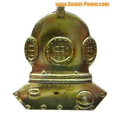 USSR special award military Scuba Diver badge