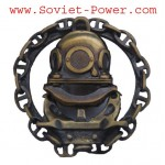 Russian DIVER SCHOOL GRADUATE BADGE Military Naval Fleet