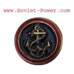Soviet Metal MARINES EMBLEM BADGE Anchor Military LOGO