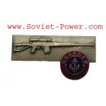 Plata rusa insignia de MARINES SNIPER militar SPETSNAZ