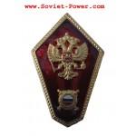 ロシアのMILITIA SCHOOLメタルバッジポリスアカデミーイーグル