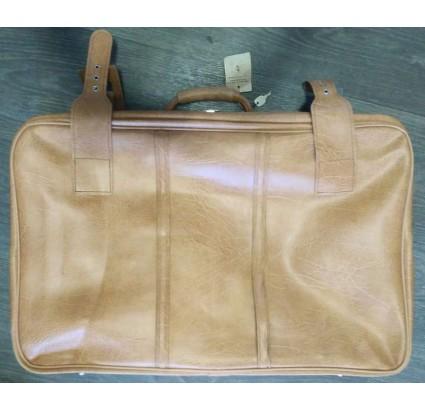 Vintage leather suitcase VEB Kofferfabrik Kindelbrück Koffer