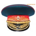 Généraux d'infanterie russes militaire chapeau de pare-soleil