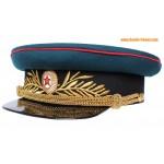 Russian Artillery and Tank troops General visor cap