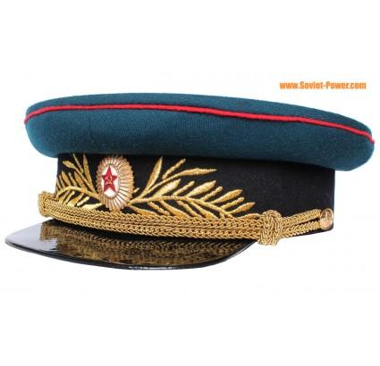L artillerie et les troupes Réservoir général russe casquette visière