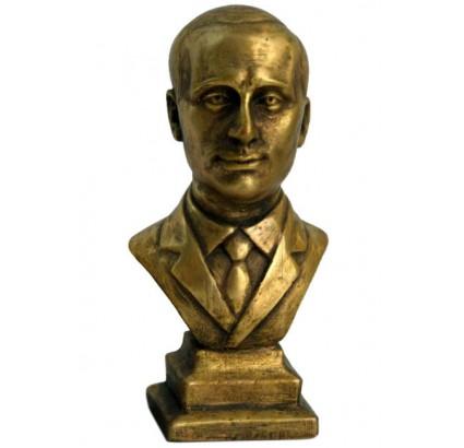 Bust of Russian President Vladimir Putin