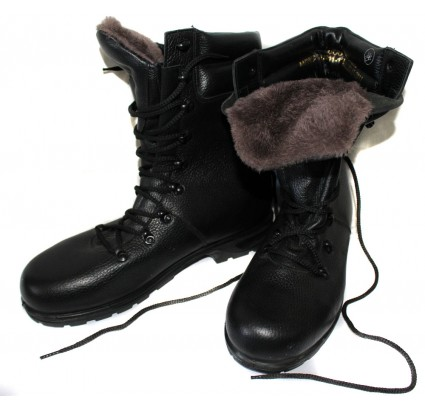 Warm Russian Army modern Ankle Boots with Fur size 41