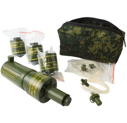 Military water filter NF-10 Russian army survival equipment