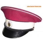 Blanco Guardia de visera del general Drozdov Regimiento sombrero