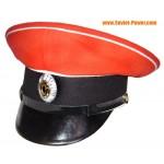Weiße Garde Visier Hut von General Kornilow Regiment