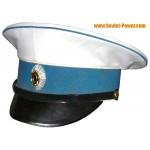 Blanco Gorra visera de general Alekseev regimiento de infantería guerrilla