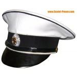 Blanco Gorra de visera del Regimiento de Marzo