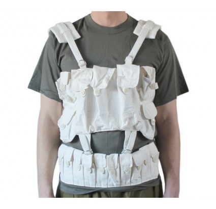 Soviet Army winter white assault vest system A + B