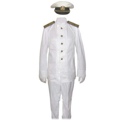 UdSSR Navy Fleet Captain Paradeuniform Kit