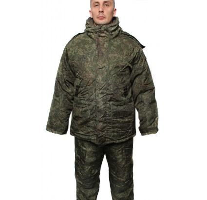 Russian General extra warm Double Jacket winter camo uniform US 46