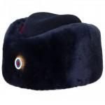 Donna russa polizia servizio speciale inverno cappello ushanka femmina
