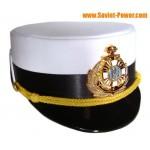 Naval Ukraine Femme officier défilé chapeau