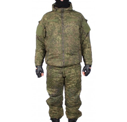 Russische taktische warme Winter Uniform Kit VKBO camo