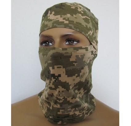 ウクライナ軍ATO迷彩バラクラバフェイスマスク