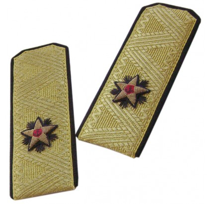 Navy parade shoulder boards of Russian Rear Admiral
