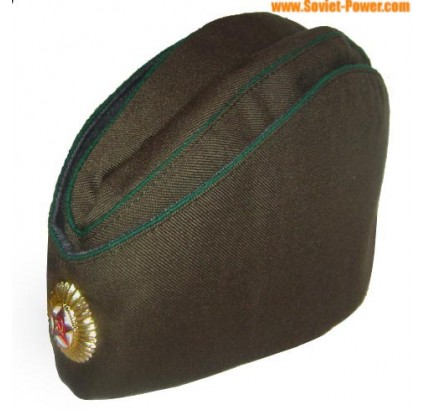 Soviet / Russian border guards Military hat Pilotka