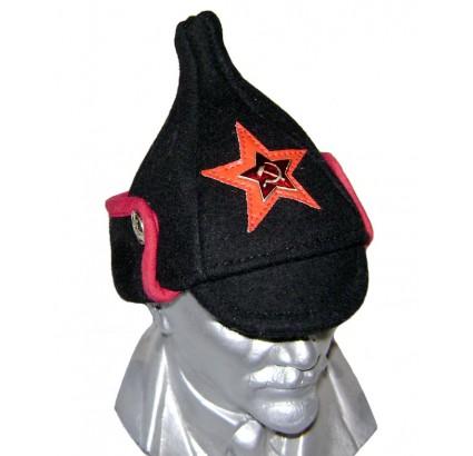 ミニBudenovkaロシアの黒い帽子のWWIのタイプ
