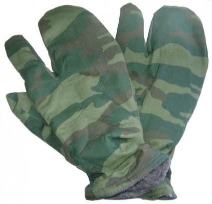 Russische Winter Spetsnaz Flora warme camo Handschuhe