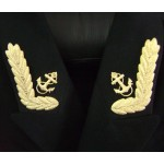 Naval Collar insignia for Russian Officer jacket
