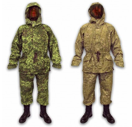 Russian Army digital / desert pixel DOUBLE CAMO Bars Ratnik