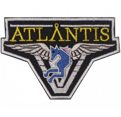 Stargate atlantis embroidered sleeve patch