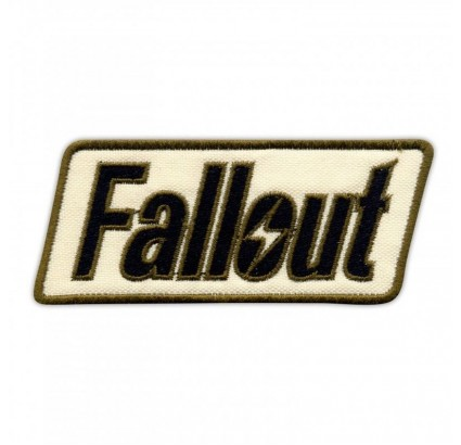 Fallout Embroidery Game Patch Falloust Shelter Sew-on Handmade