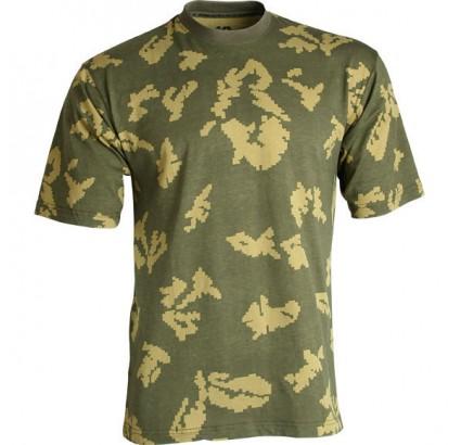 "Russische taktische Tarnung Airsoft T-Shirt ""KLMK"""