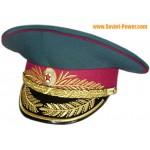 Soviet military Police MVD Generals visor hat