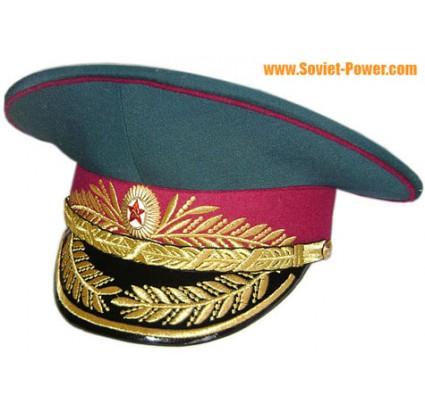 Sowjetische Militärpolizei MVD Generäle Visier Hut