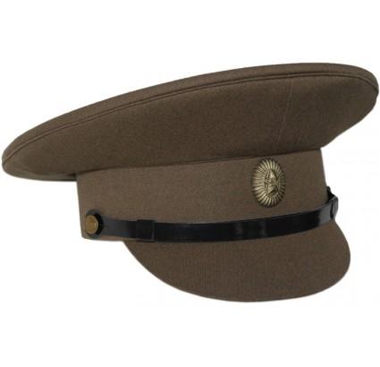 Ufficiali sovietici protezione della visiera frontale cappello kaki