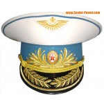 Soviet Air Force General parade Russian visor hat