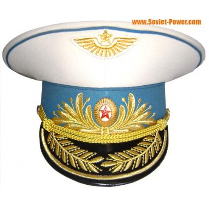 Desfile general de la fuerza aérea soviética Sombrero ruso de la visera