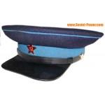 Vecchio tipo WW2 cappello milizia visiera URSS Agente di polizia