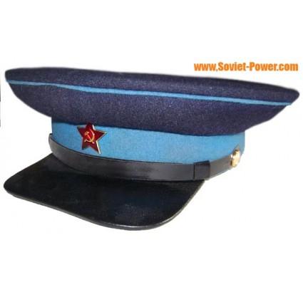 URSS Policier ancien type WW2 visière chapeau milicien