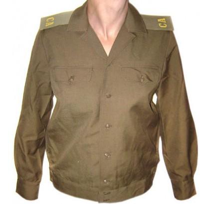 Russische Armee Halbwoll Offizier Jacke / Hemd CA