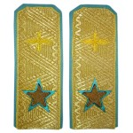 Marshall of Air Force embroidery Russian shoulder boards