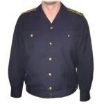 Chaqueta azul de verano de oficiales de submarinos de la flota de la Armada rusa