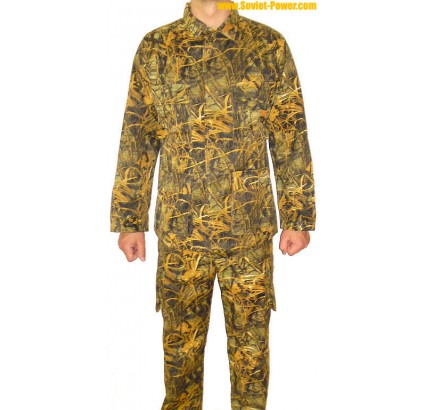Russian Army light motley Spetsnaz camo uniform