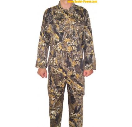 Russe foncé camo bariolée herbe uniforme spécial armée
