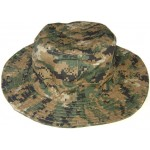 Digital brown CAMO 4-color MARPAT cylinder Hat PANAMA