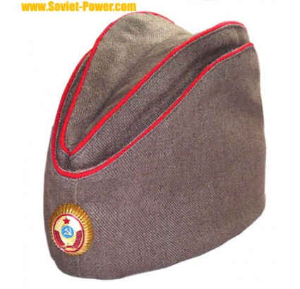 Soviet / Russian POLICE Officer PILOTKA hat