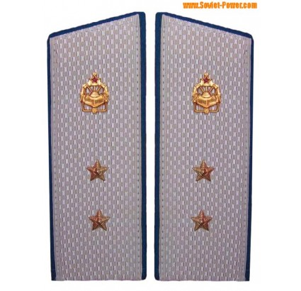 Soviet Engineer Troops parade shoulder boards
