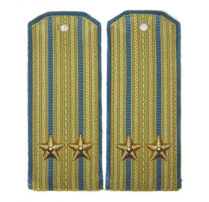 USSR Air Force parade Russian shoulder boards