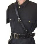 Imbragatura Nero Alle spalle (solo) per la cintura Portupeya