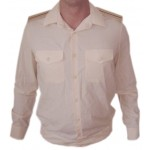 Soviet Navy Fleet Officers Creamy Shirt